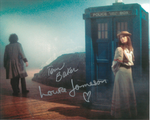 Tom Baker, Louise Jameson  -  Multi signed original autograph not a copy 10264